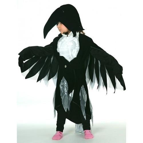 Как сделать крылья вороны своими руками