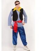 """Карнавальный костюм """"Пират в тельняшке"""""""