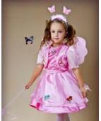 """Карнавальный костюм """"Бабочка розовая люкс"""""""