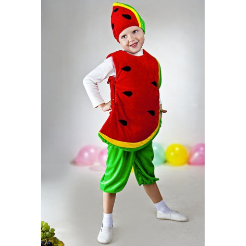 Костюм из фруктов для ребенка своими руками