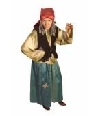 """Карнавальный костюм """"Баба Яга текстиль для взрослых"""""""