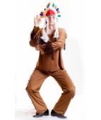"""Карнавальный костюм """"Индеец волждь для взрослых"""""""