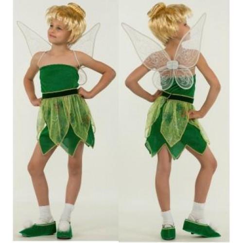 bde25edeb03e1e Карнавальный костюм для девочек фея динь динь