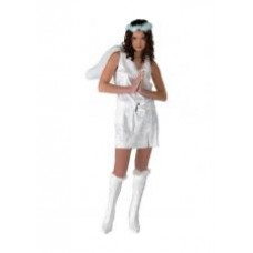 """Карнавальный костюм """"Белый Ангел"""" для взрослых."""