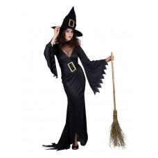"""Карнавальный костюм """"Ведьма черная для взрослых"""""""
