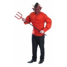 """Карнавальный костюм """"Дьявол с мышцами для взрослых"""""""