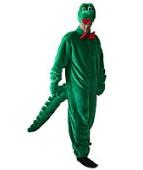 """Карнавальный костюм """"Крокодил Гена комбинезон для взрослых"""""""