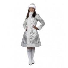 """Карнавальный костюм """"Снегурочка стальная для взрослых"""""""