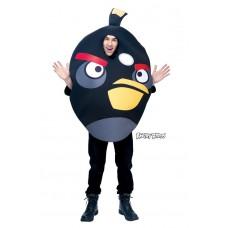 """Карнавальный костюм """"ANGRY BIRDS черный для взрослых"""""""