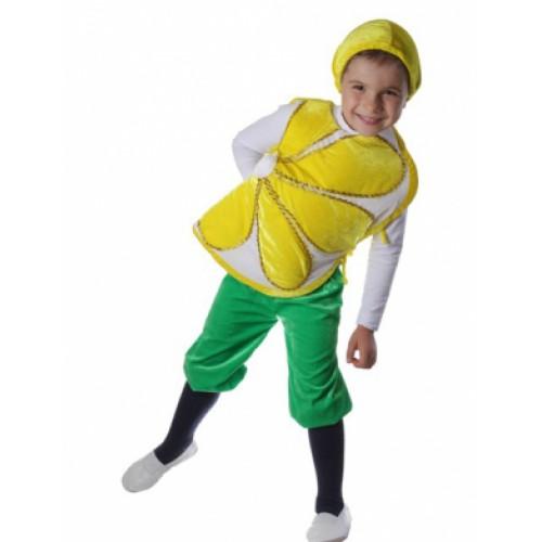 Костюм лимон для мальчика своими руками 91