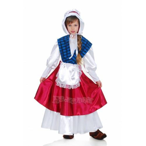 Карнавальный костюм герды своими руками