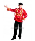 """Карнавальный костюм """"Русский народный мужской Хохлома"""""""