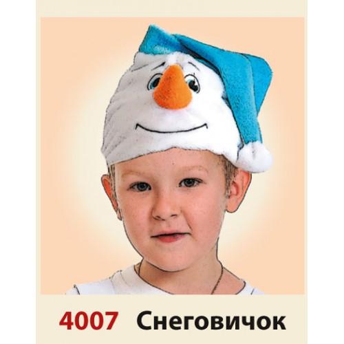 Как сделать маску снеговик своими руками