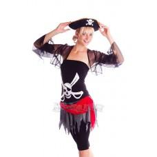 """Карнавальный костюм """"Пиратка Альма для взрослых"""""""