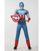 """Карнавальный костюм """"Капитан  Америка (Мстители)"""""""