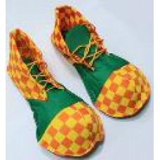 Ботинки клоуна в клетку детские\взрослые