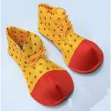 Ботинки клоуна в горох детские\взрослые