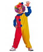 "Карнавальный костюм ""Клоун (красно-желтый) с колпаком"""