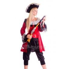 """Карнавальный костюм """"Пиратка Элизабет для взрослых"""""""