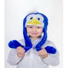 """Карнавальная шапочка """"Пингвинчик"""""""