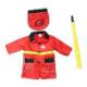 Карнавальный костюм Пожарный (со шлангом)