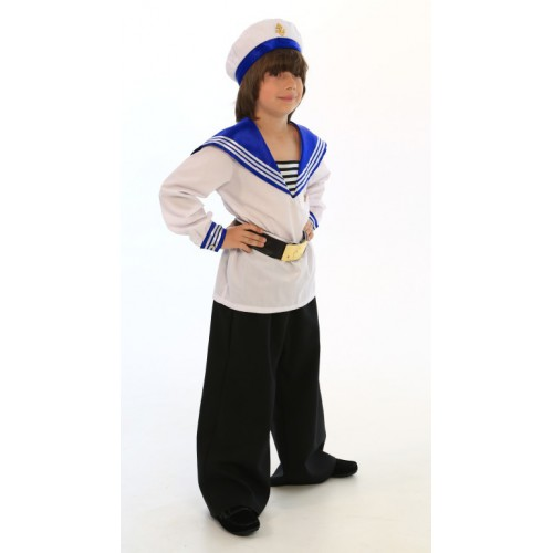 Своими руками костюм моряка