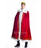 """Карнавальный костюм """"Король мантия для взрослых"""""""