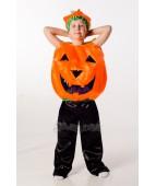 """Карнавальный костюм """"Хеллоуин - тыква"""" для мальчика."""