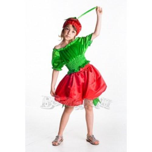 Карнавальный костюм для девочек Вишня