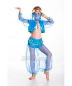 """Карнавальный костюм """"Восточная красавица в голубом"""""""