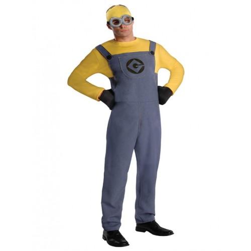 """Карнавальный костюм """"Миньон для взрослого"""" купить - photo#37"""