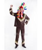 """Карнавальный костюм """"Вождь краснокожих индеец для взрослых"""""""