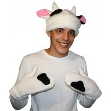 """Карнавальная шапочка """"Бык\корова для взрослых"""""""
