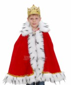 """Карнавальный костюм для мальчика """"Мантия короля"""""""