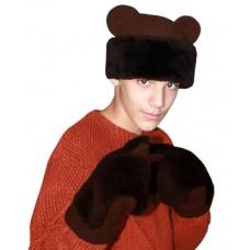 """Карнавальная шапочка """"Медведь для взрослых"""""""
