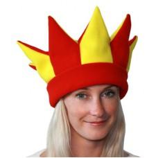 """Карнавальная шапочка """"Скоморох для взрослых (6 цветов)"""""""