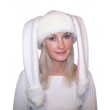 """Карнавальная шапочка """"Зайка для взрослых"""""""
