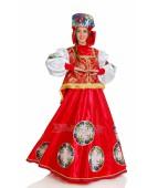 """Карнавальный костюм """"Масленица Боярыня красная для взрослых"""""""