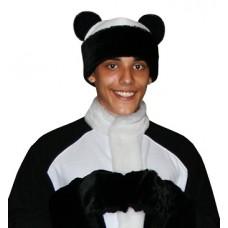 """Карнавальная шапка """"Медведь Панда+варежки для взрослых"""""""