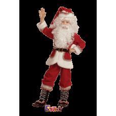 """Карнавальный костюм """"Санта Клаус бархат"""""""