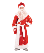 """Карнавальный костюм """"Дед Мороз мех для детей"""""""