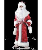 """Карнавальный костюм """"Дед Мороз плюш для детей """""""
