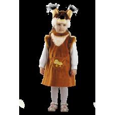 """Карнавальный костюм """"Белочка с грибком"""""""
