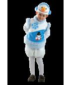 """Карнавальный костюм """"Снеговик Снежный"""""""