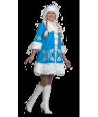"""Карнавальный костюм """"Снегурочка вышивка для взрослых"""""""