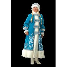 """Карнавальный костюм """"Снегурочка аппликация для взрослых"""""""