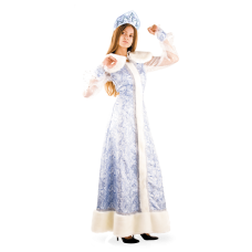 """Карнавальный костюм """"Снегурочка шелк для взрослых"""""""