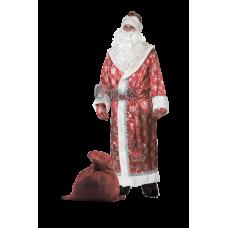 """Карнавальный костюм """"Дед Мороз красный для взрослых"""""""