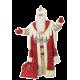 """Карнавальный костюм """"Дед Мороз королевский красный для взрослых"""""""