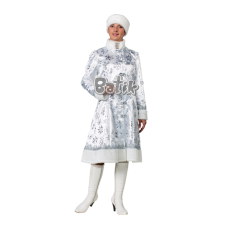 """Карнавальный костюм """"Снегурочка белая для взрослых"""""""